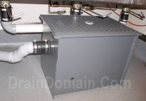 modern grease trap