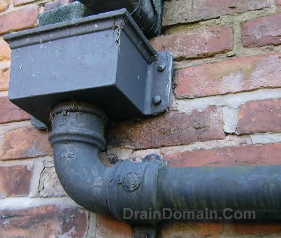 downspout patch repairs